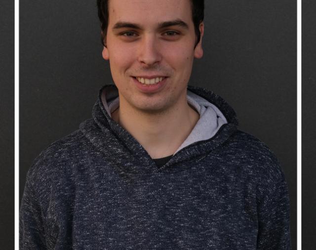 New Master's Student-Daniel Silvério